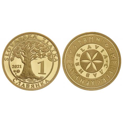 Zlatá medaila Slovanská zlatka